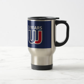 3 Years Of Union J ack Travel Mug