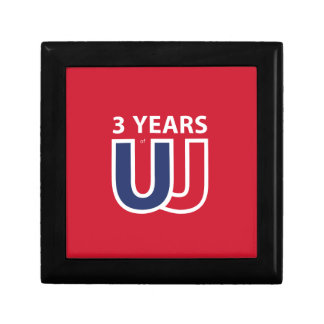 3 Years of Union Jack Keepsake Boxes