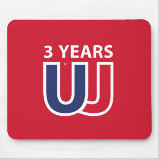 3 Years of Union Jack Mouse Pad