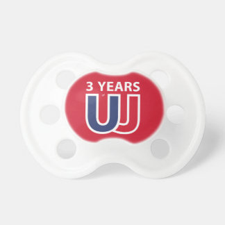 3 Years of Union Jack Pacifier