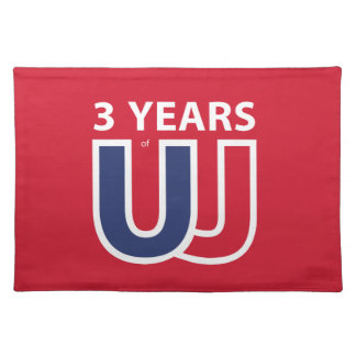 3 Years of Union Jack Placemat