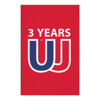 3 Years of Union Jack Stationery