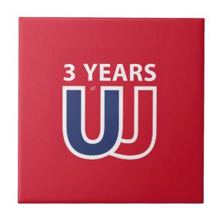 3 Years of Union Jack Tile
