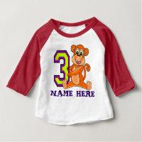 3 YearS Old Birthday TShirts3 YEARS OLD T SHIRT