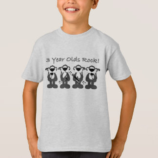 3 yr olds rock T-Shirt