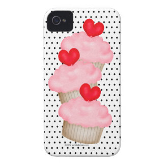 3 Yummy Cupcakes iPhone 4 Case-Mate Cases