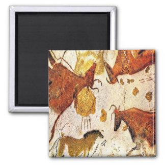 3c   Ancient Lascaux Bulls Magnet