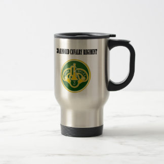 3d Armored Cavalry Regiment Travel Mug