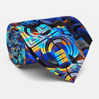 3D art abstrait 23 Cravate Personnalisée