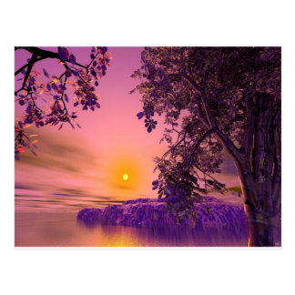 3d art setting the mood postcard