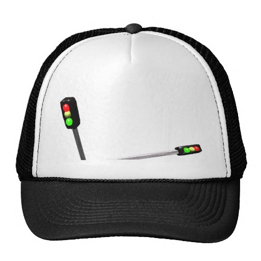 3d Art Traffic Light  Model Hats