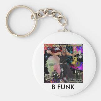 3d, B FUNK Keychain