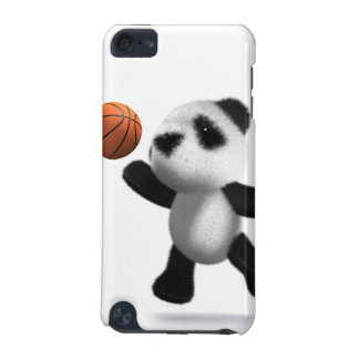 3d Baby Panda Basketball design for iPod iPod Touch (5th Generation) Cover