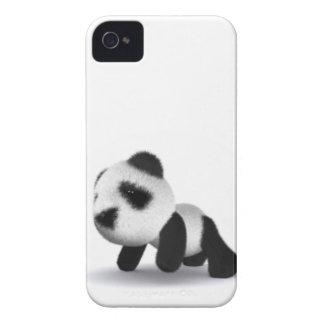 3d Baby Panda Crawls iPhone 4 Cases