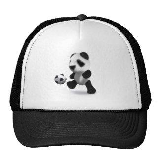 3d Baby Panda Football Trucker Hat