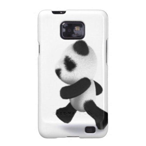 3d Baby Panda Jogger Samsung Galaxy S Covers