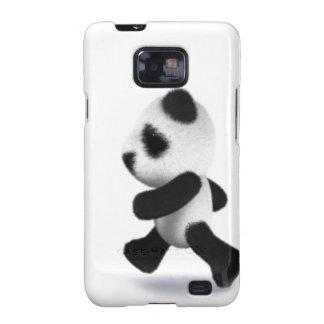 3d Baby Panda Jogger Samsung Galaxy SII Covers