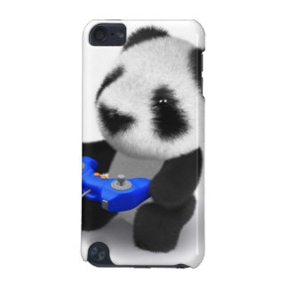 3d Baby Panda Videogamer iPod Touch 5G Cover