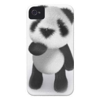 3d Baby Panda Watches Case-Mate iPhone 4 Cases
