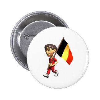 3D Belgium Button