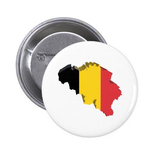 3D Belgium Pins