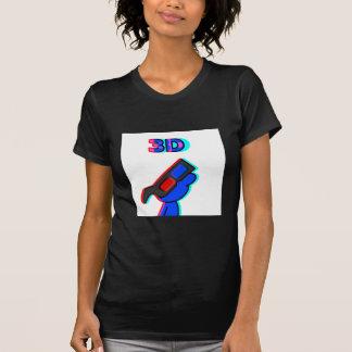 3D Blue Tee Shirt