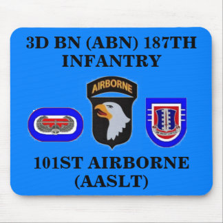 3D BN 187TH INFANTRY 101ST ABN MOUSEPAD