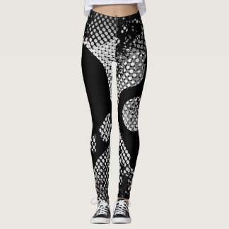 3D Carbon Fiber Leggings