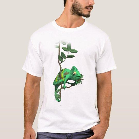 3D Chameleon T-Shirt