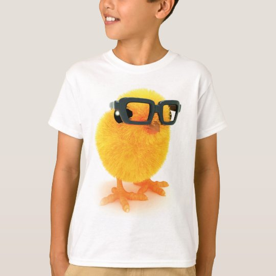 3d Chick in Glasses T-Shirt