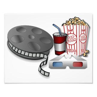 3D Cinema Photographic Print