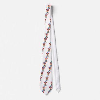 3d-clown tie