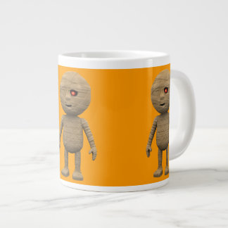 3d Creepy Halloween Mummy (editable) Giant Coffee Mug