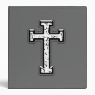 3D Cross 3 Ring Binders