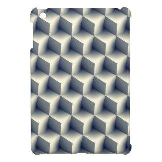3D Cubes Pattern iPad Mini Cover