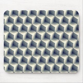 3D Cubes Pattern Mouse Pad