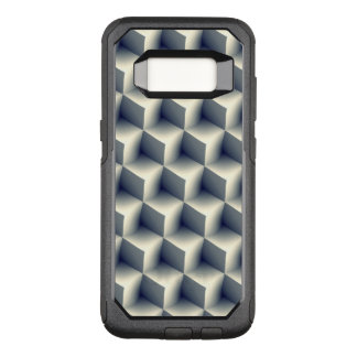 3D Cubes Pattern OtterBox Commuter Samsung Galaxy S8 Case