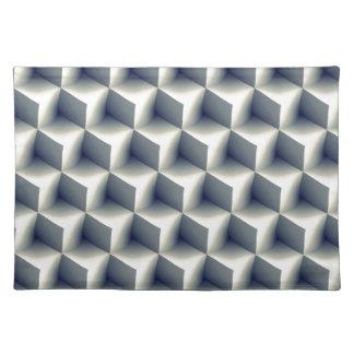 3D Cubes Pattern Placemat