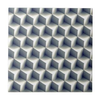 3D Cubes Pattern Tile