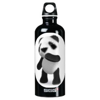 3d Cute Baby Panda Thinking