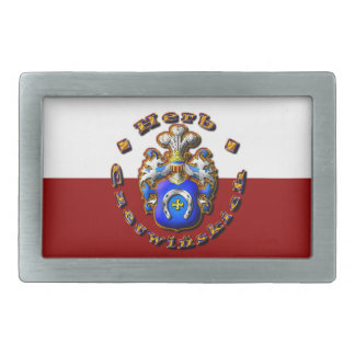 3D Czerwińskch Family Crest Belt Buckle