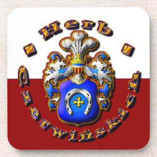 3D Czerwińskch Family Crest Coaster