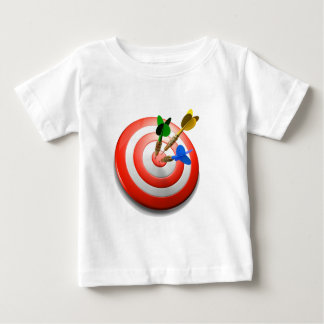 3D Darts BullsEYE Baby TShirt