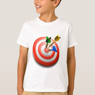 3D Darts BullsEYE Childs T T-Shirt