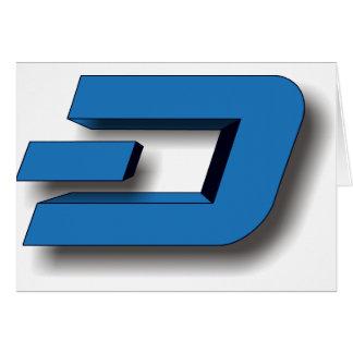 3D DASH Logo Card