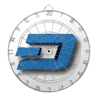 3D DASH Logo Dart Board