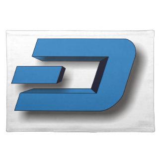 3D DASH Logo Placemat