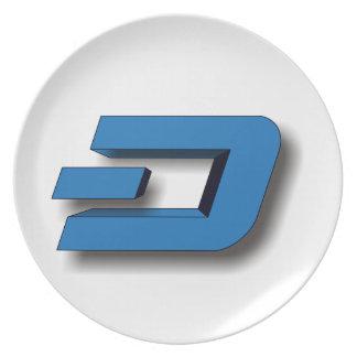 3D DASH Logo Plate