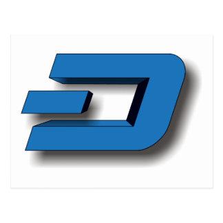 3D DASH Logo Postcard