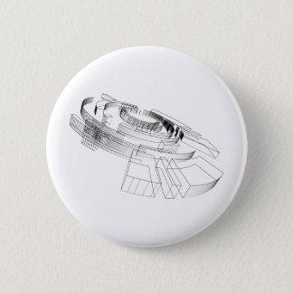 3d Design 2 Inch Round Button
